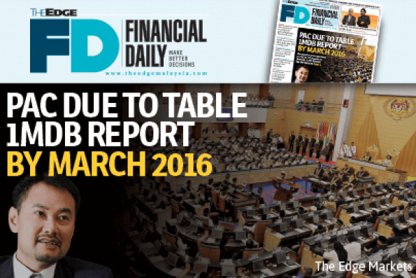 PAC due to table 1MDB report by March 2016