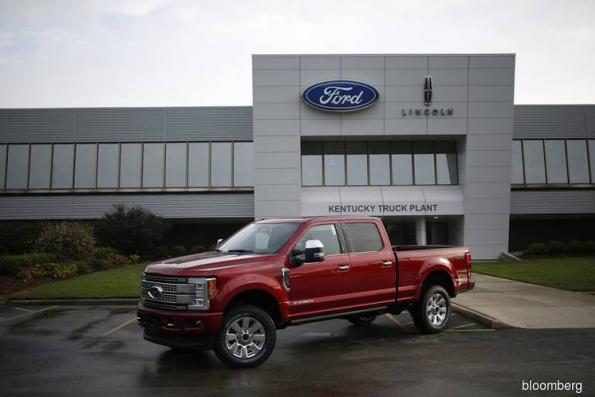 US pickup truck sales lift Ford's margins, profits
