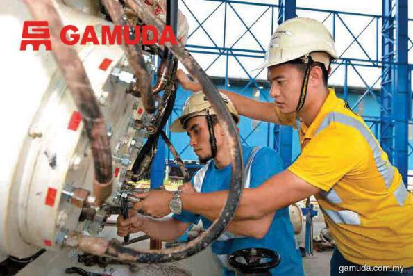 Gamuda, KPS shares down on buyout offer for SPLASH's water treatment assets