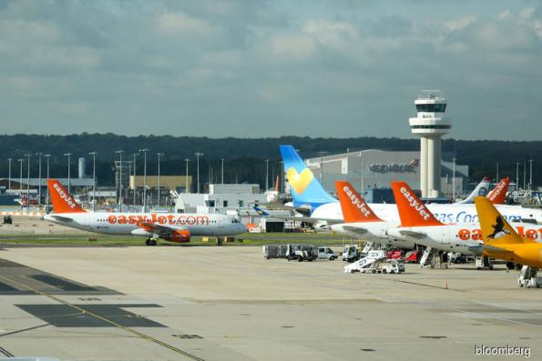 London's Gatwick Airport halts flights on reports of drones