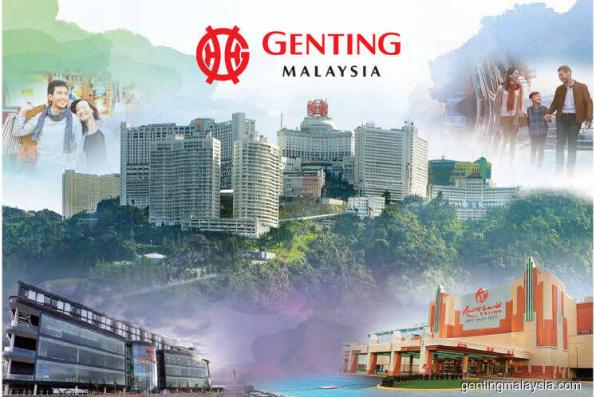 Genting Malaysia upgraded to Buy at Maybank; TP RM5.70