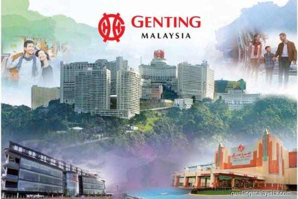 澄清主题乐园营运 云顶马来西亚走低