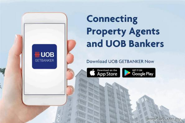 New app that matches property buyers with UOB mortgage bankers