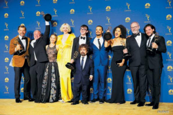 TV: Netflix ties longtime Emmy darling HBO in total wins