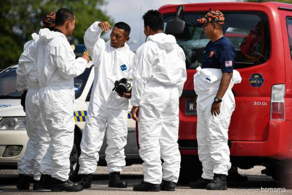 Hazmat deploys 133 personnel to monitor chemical pollution in Pasir Gudang
