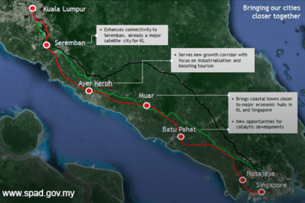 Open tender to be called for KL-Singapore HSR project on Monday