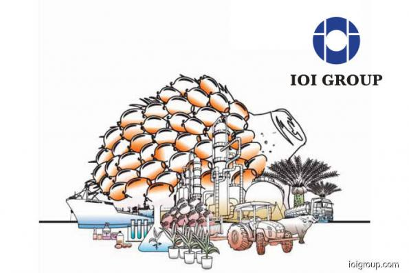 IOI Corp expected to see earnings growth on steady palm oil prices