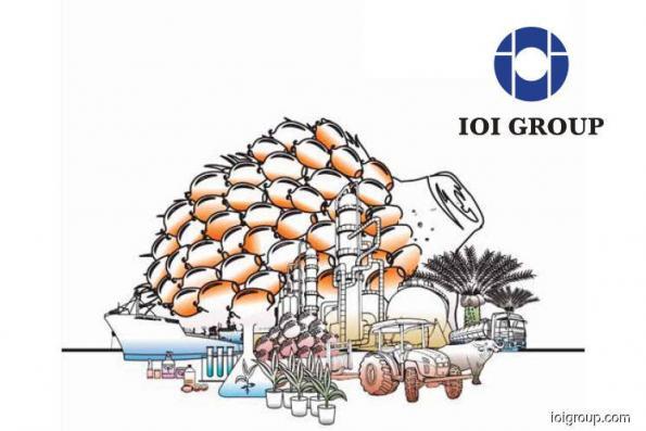 重组一部分 IOI集团以3.3亿售特种油脂子公司