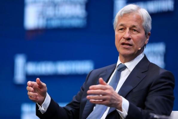 The market is dealing with something it's never seen before and that has Jamie Dimon worried