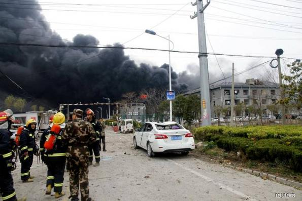 China's Xi orders rescue effort after factory blast kills 47