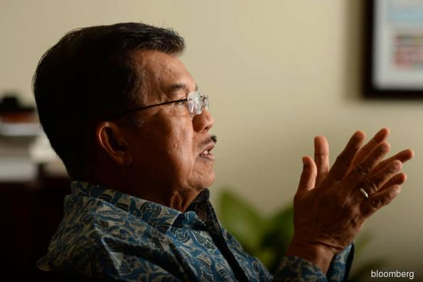 Trade war is a good thing for Indonesia, vice president says