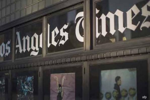 Biotech billionaire takes over Los Angeles Times; new editor named