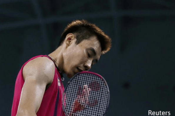 Badminton: Malaysia's Lee upset in first round at All England