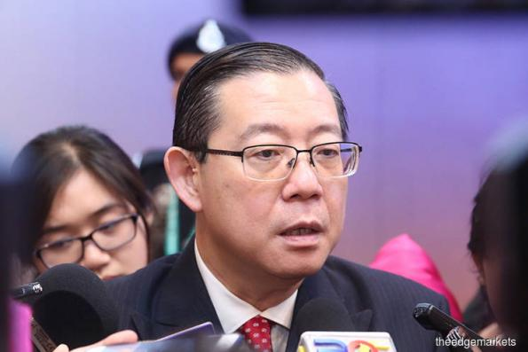 Revenue sharing with Sabah, Sarawak only after fiscal position improves, says Lim Guan Eng