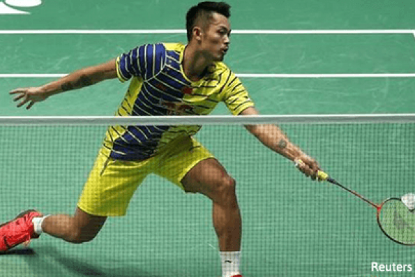 Badminton - Lin on track for sixth All-England title