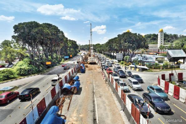 LRT3 works to resume in 2H19
