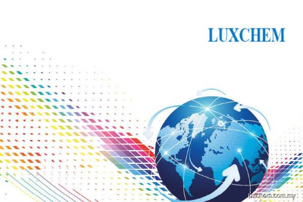 Luxchem upgraded to buy at RHB Research Institute; price target 62 sen