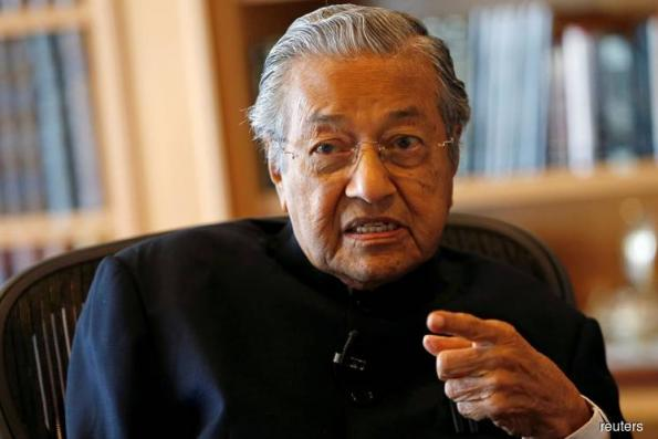 Dr Mahathir says always wanted to be a politician