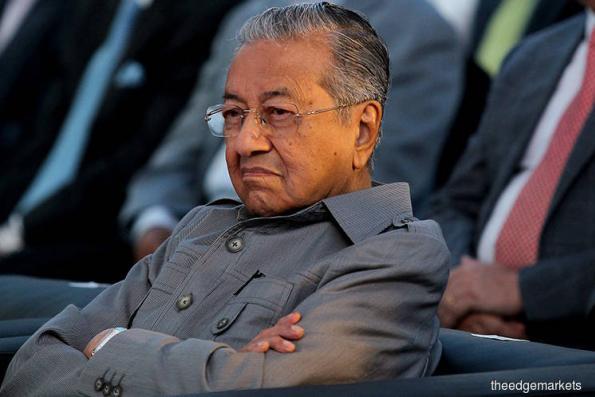 Goldman Sachs bankers 'cheated' Malaysia over 1MDB — PM Mahathir