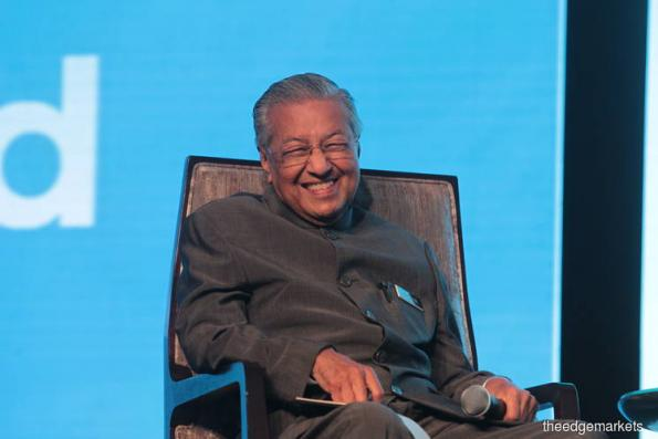Mahathir : Gov't spent much of first year plugging 'almost bottomless pit' created by 1MDB