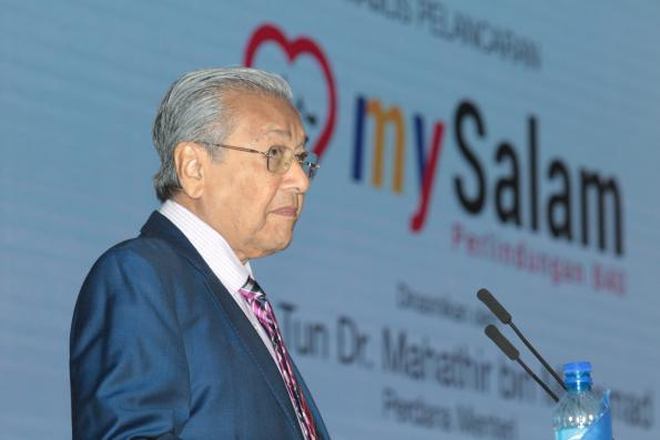 Dr Mahathir says 'not sure, not aware' whether ECRL contract terminated
