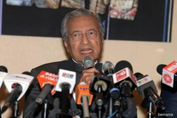 Dr Mahathir confirms Bersatu spreading wings to Sabah