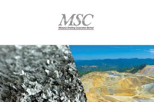Malaysia Smelting Corp down 4.97% after posting 4Q net loss