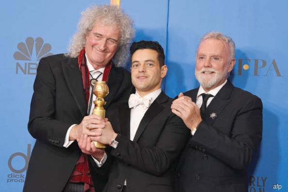 ARTS: Bohemian Rhapsody rocks Golden Globes with surprise coda