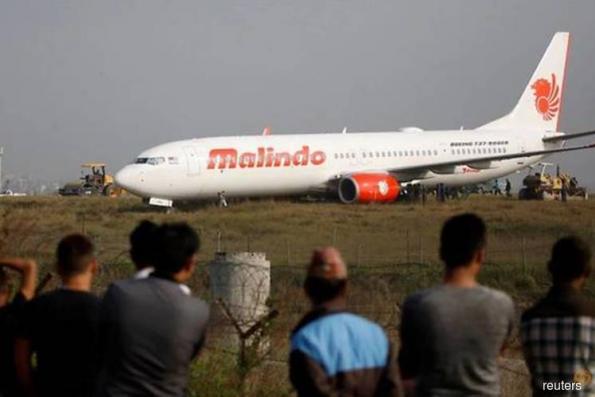 Malindo plane skids off runway in Nepal