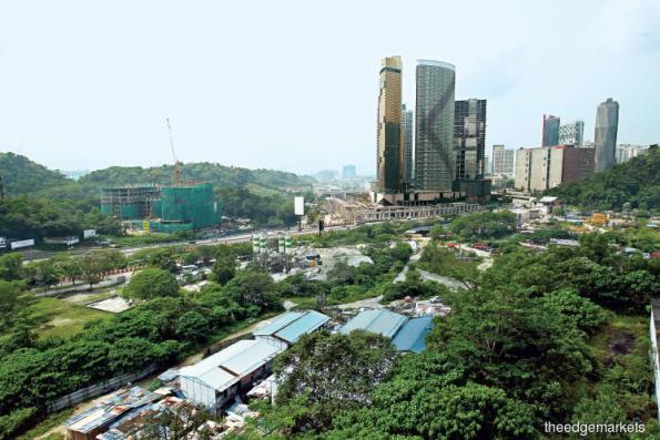 Mammoth Empire carving Empire City Damansara 2 land into smaller plots