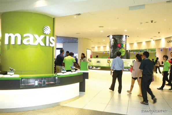 Maxis up after announcing broadband plans