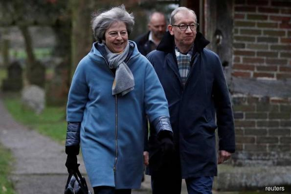 Prime Minister Theresa May makes a last ditch effort to convince rebel lawmakers to back her Brexit divorce deal on Monday, warning that United Kingdom's exit is now in peril before setting out new European Union assurances on the deal.  The future of the United Kingdom's March 29 exit from the EU is deeply uncertain as parliament is likely to vote down May's deal on Tuesday evening, opening up outcomes ranging from a disorderly divorce to reversing Brexit altogether.