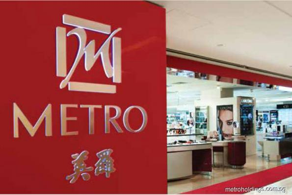 Shares in Metro rise on sale of China property