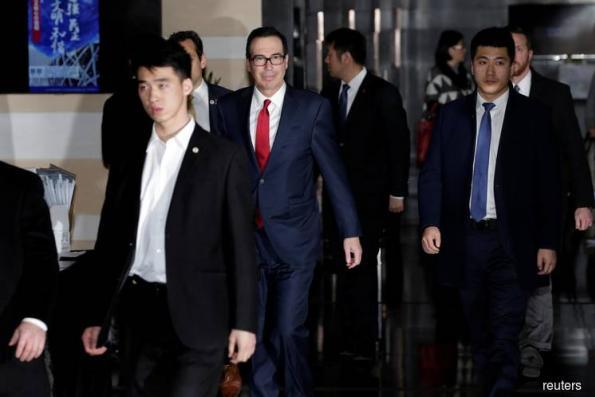 Mnuchin says US had 'productive' trade meetings with China
