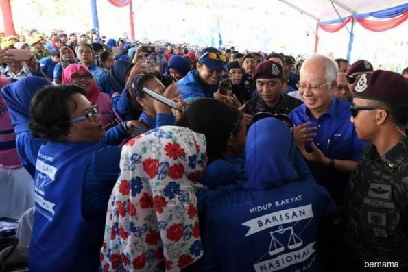 Najib : Sabahans have to elect BN to make Malaysia great