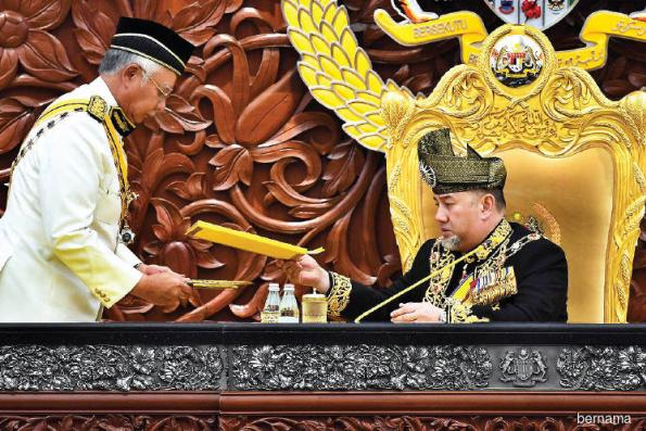 Govt to ensure people's well-being, says Agong