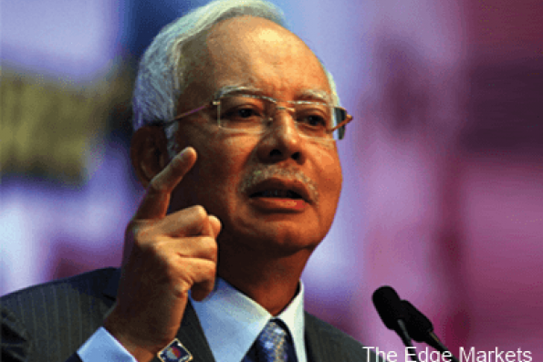 Mandate to lead is from the people, belongs to no one but me, says Najib