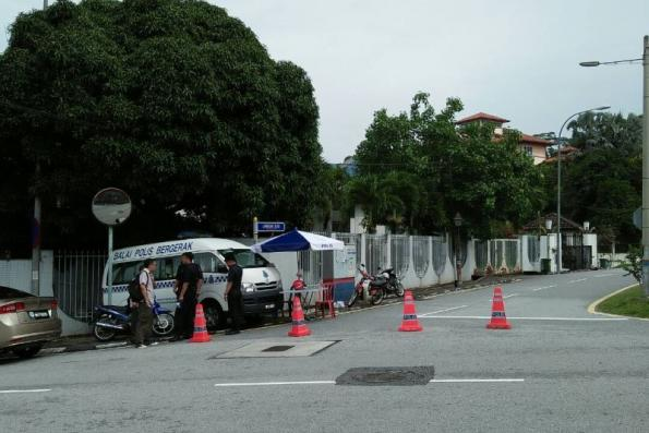 Police search continues at Najib's residence as of noon