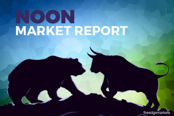 KLCI pares losses in line with firmer regional markets