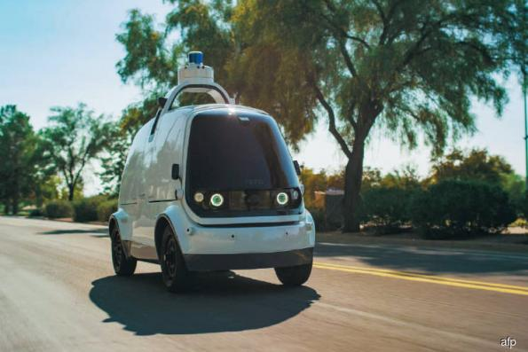 SoftBank fund invests big in self-driving deliveries