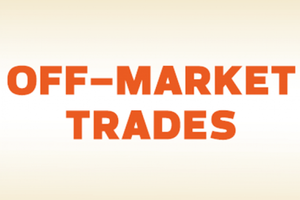 Off Market Trades: Bioalpha Holdings, Sycal Ventures, TIME dotCom, PUC Founder