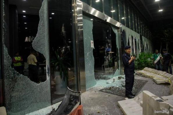 Shops in One City Mall close early for safety reasons