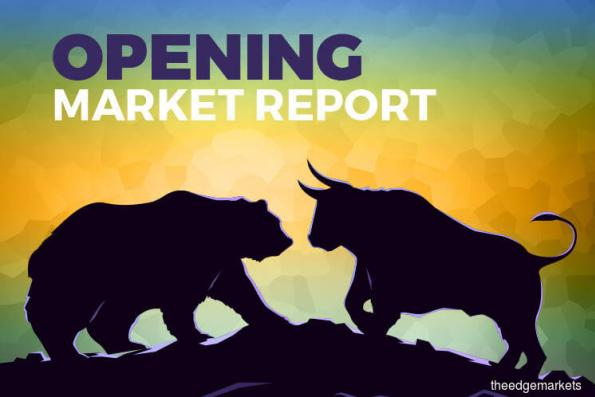 KLCI starts lower in line with frail regional markets