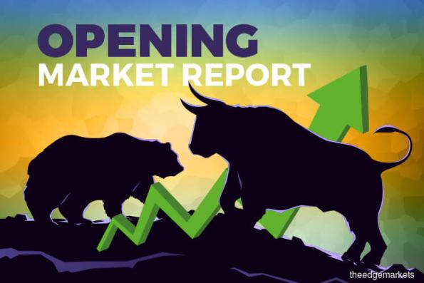 KLCI rebounds 0.37% in early trade, tracks regional gains