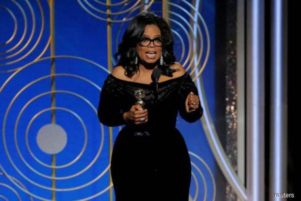 Oprah Winfrey fans call for White House run after #MeToo speech