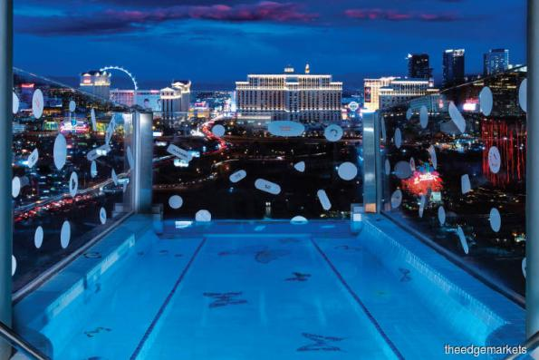 A look at US$100,000-per-night suite in Las Vegas