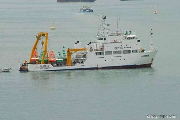 Marine Department — MV Pedoman is in Malaysian waters