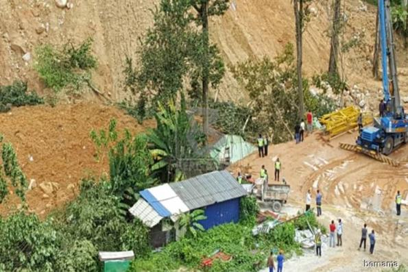 Penang Govt awaits DOSH report on Bukit Kukus landslide