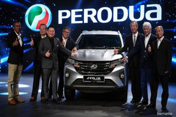 Perodua launches Aruz SUV, racks up 2,200 bookings since Jan 3