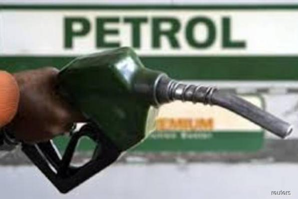 Petrol prices go up another six to seven sen per litre